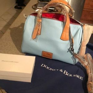 Dooney & Bourke, Caribbean Blue, Kendra Satchel